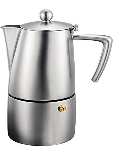 Milano Espresso Cups - Cuisinox Stainless Steel Milano 10-Cup Espresso Coffeemaker
