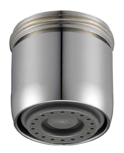 Perlator 11001298 Wassersparstrahler mit Sprühstrahl mit Reduzierung M22 x M24, verchromt