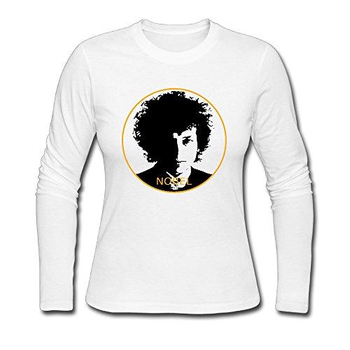 Bob Dylan New T-shirt - Design T Shirt White 2016 New Bob Dylan Nobel Prize T-shirt Woman's