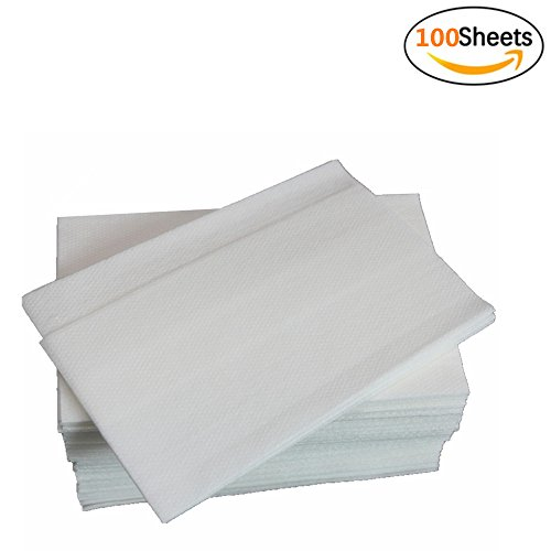 Jebblas Linen Feel Guest Towels   Disposable Cloth Like Tissue Paper   Soft And Absorbent Hand Napkins For Kitchen  Bathroom  Parties  Weddings  Dinners Or Events  100 Count