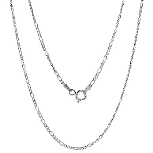 Sterling Silver Figaro Necklaces Bracelets