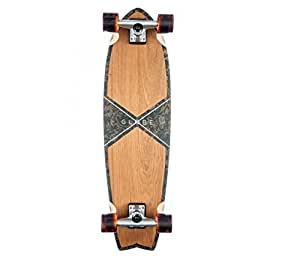 GLOBE HG Chromatic Cruiser Skateboard, Teak/Floral Couch