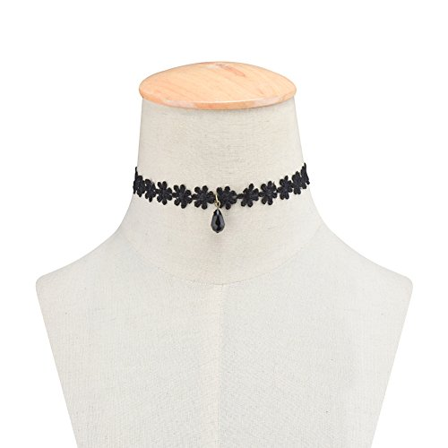 Classic Stretch Floral Choker Necklace product image