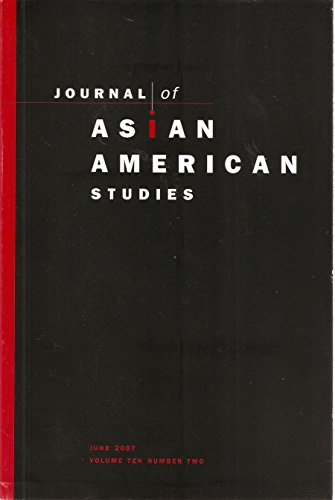 Journal of Asian American Studies, June 2007