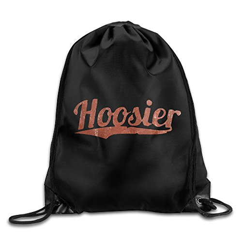 Price comparison product image Hoosier Drawstring Backpack Bag White