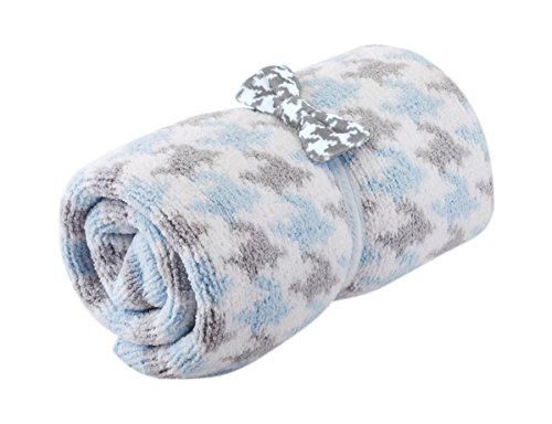 Price comparison product image Nat and Jules Chenille Blanket and Bow Tie Set