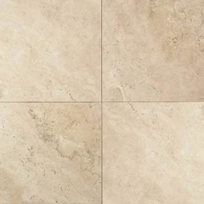 Travertine Baja Cream 16 in. x 16 in. Natural Stone Floor and Wall Tile (10.32 sq. ft. / case) - Daltile Natural Stone