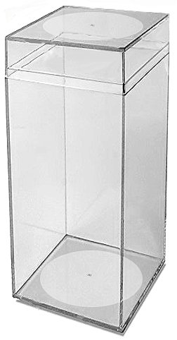Beanie Baby Display Cases - Clear plastic box protector for Beanie Babies or any collectible display purposes