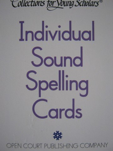 Collections for Young Scholars Individual Sound Spelling Cards