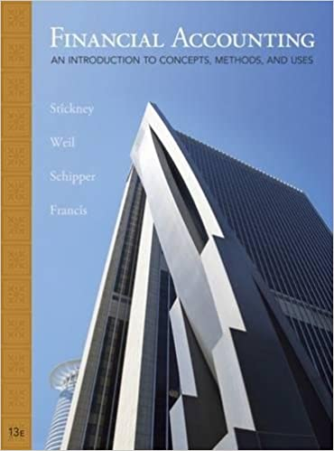 Student solutions manual for stickney/weil/schipper/francis.