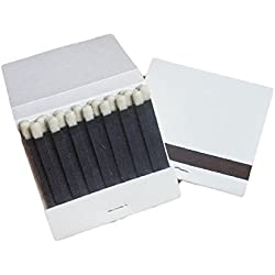 50 Plain White Matches Matchbooks Wedding 30 Strike