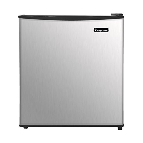Price comparison product image Magic Chef MCAR170SE2 Energy Star 1.7 Cu. ft. Mini All-Refrigerator with Stainless Door Compact, Silver