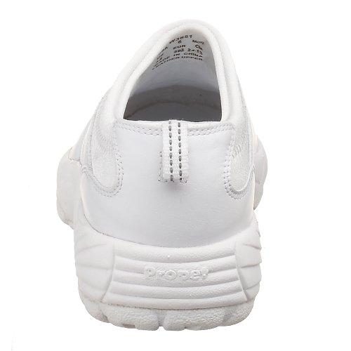 Propet Frauen W3851 Wash & Wear Slip-On Weiß