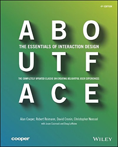 41C4Ye eyCL - About Face: The Essentials of Interaction Design
