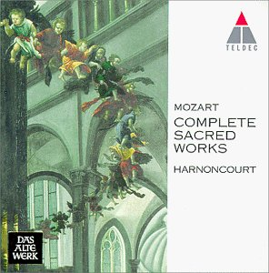 Mozart - Complete Sacred Works / Harnoncourt