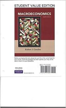 macroeconomics gordon 12th edition pdf