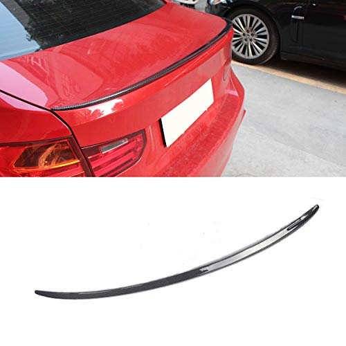 (Fandixin F30 Spoiler, Carbon Fiber M3 Style Rear Trunk Deck Lip Boot Spoiler Wing for BMW F30 F35 F80 2012+ )