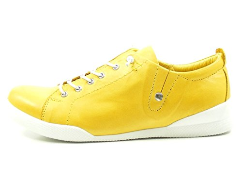 Jaune Baskets Conti Femme Andrea Menthe 0345724 nqfUPxY