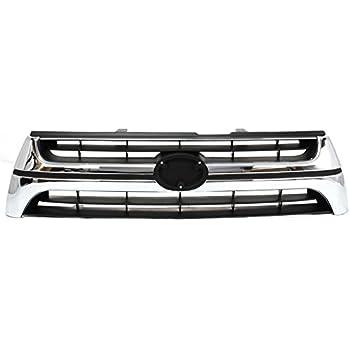 QP Z5765-a Toyota Chrome Passenger Headlight Door Grille Aftermarket