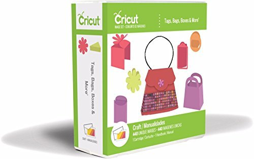 Cricut Cartridge Tags, Bags, Boxes & More