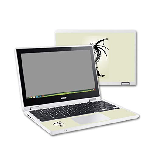 MightySkins Skin for Acer Chromebook R11 - Ink Dragon | Protective, Durable, and Unique Vinyl Decal wrap Cover | Easy to Apply, Remove, and Change Styles | Made in The USA