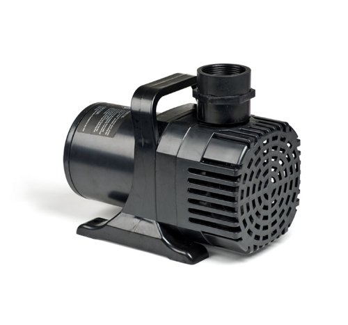 Atlantic Water Gardens Pond & Waterfall Pump, Energy Efficient & High Flow Rates, 4800 GPH