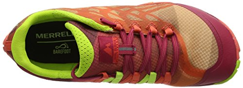 Merrell Trail Glove 4, Zapatillas de Running para Asfalto para Mujer Naranja (Fruit Punch)