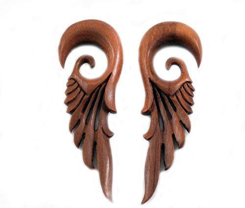 Bandaru Organics Sawo Wood Robot Feather Wings Hangers
