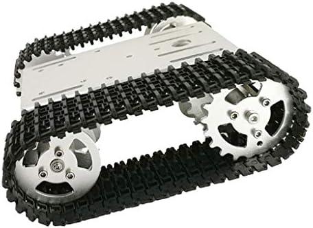 Milageto RC WiFi Robot Stoßdämpfer Tankwagen Fahrgestellsteuerung Per Smartphone