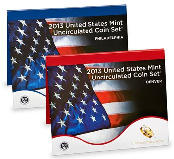 Eight Mints (2013 P D US Mint Set 28 Coins in Original Packaging Brilliant Uncirculated)