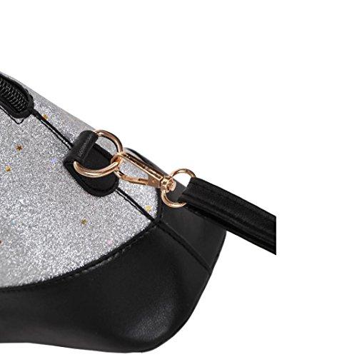 Mode ALIKEEY Splice sac femmes cuir Rcdwq4