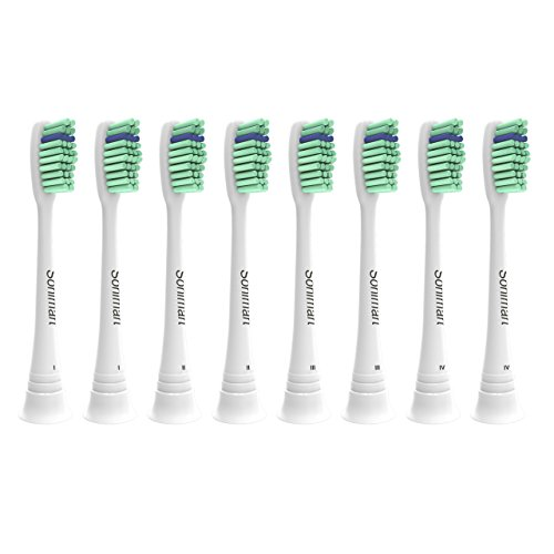 Sonimart Premium Replacement Toothbrush Heads for Philips Sonicare ProResults, 8 pack, fits Essence+, Plaque Control, Gum Health, DiamondClean, FlexCare, HealthyWhite and (Premium Head)