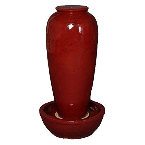 Emissary Home & Garden Fountain RED, 39
