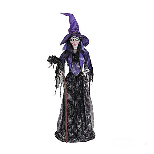 Large Spellbound Glam Witch with Light-Up Eyes Halloween