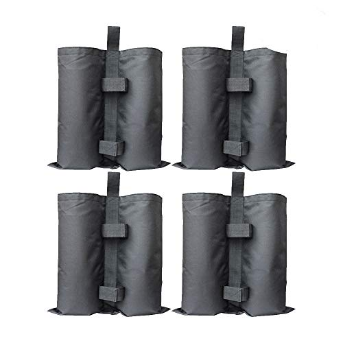 RIOGOO 4pcs-Pack Industrial Grade Heavy Duty Double-Stitched Sand Weight Bags, Leg Weights for Pop up Canopy Tent Weighted Feet Bag For Sale