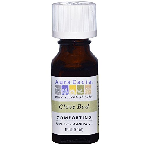 Price comparison product image Aura Cacia Clove Bud Essential Oil (0.5Oz)