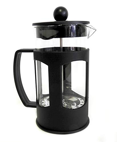 French Press with Protective Plastic Exterior – Brew Fresh Coffee and Tea 20 Oz