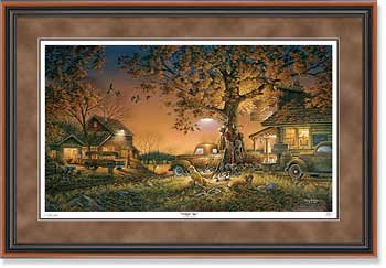Twilight Time Framed Limited Edition Print by Terry Redlin