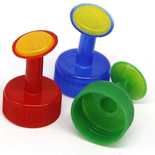 Coolrunner Bottle Cap Sprinkler PVC Plastic Watering GB 28mm Caliber Little Nozzle Sprinkler Head Watering Vegetables Mist Nozzle (3)