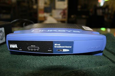 Linksys RT41 BU Router 4 Port Switch product image