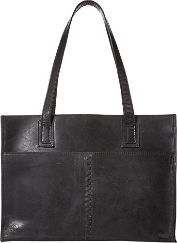 Born Womens Scottville Distressed Leather Black One Size Born Black Leather
