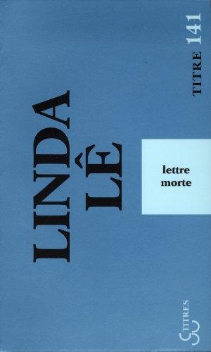 Lettre Morte (French Edition)