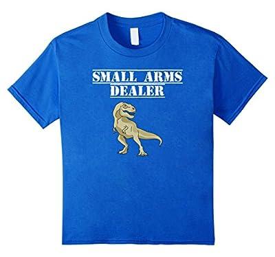 Small Arms Dealer Funny Dinosaur T-Shirt