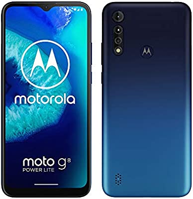 Motorola Moto G8 Power Lite - Smartphone 64GB, 4GB RAM, Dual Sim, Royal Blue: Amazon.es: Electrónica