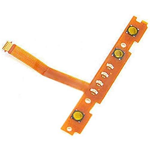 Tangren Replacement SL SR Left Right Button Key Flex Cable Repair Parts for Nintendo Switch Joy-Con Controller (Left Flex Cable)