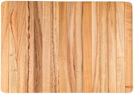 Boumbi Fragrant Camphor Laurel Roll Up Wood Placemats Set Of 2 Amazon Co Uk Kitchen Home