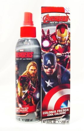Avengers Assemble Cool Cologne Spray 6.8 oz for Kids by Marvel