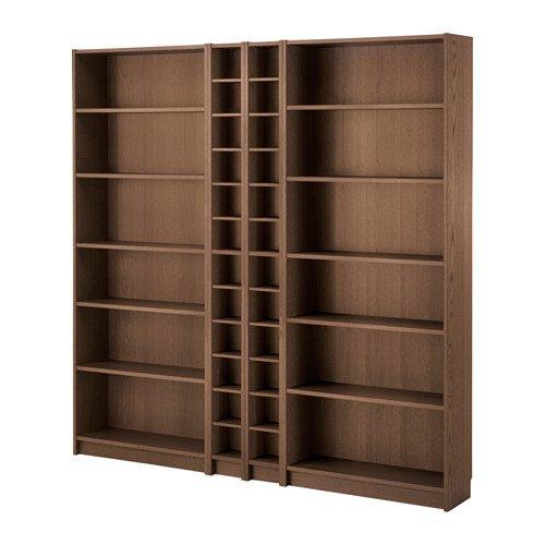IKEA本棚、ブラウンAsh Veneer 18204.171720.1022 B01HWH8NWA