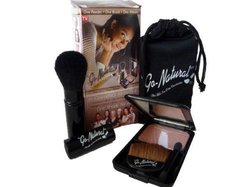 Go Natural The All In One Cosmetic Magic Mineral Makeup On TV - One Cosmetic Mineral Makeup