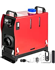 VEVOR nagrzewnica powietrza 12 V na olej napędowy, 8 kW, ogrzewnica postojowa na olej napędowy, ogrzewanie postojowe powietrzem, nagrzewnica powietrza na olej napędowy, nawiew powietrza, do samochodów kempingowych, łodzi, samochodów ciężarowych, autobusów
